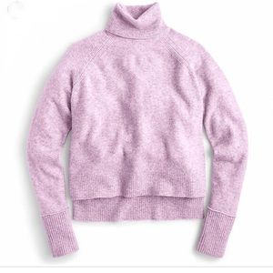 J Crew Turtleneck sweater with side slits